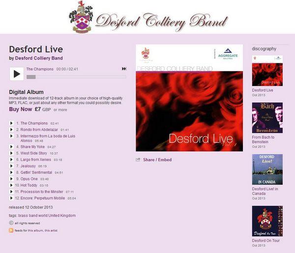 Desford Colliery Brass Band